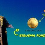 DavorCoin é um Esquema Ponzi Bitcoin até 48% por mês (Clone Bitconnect)
