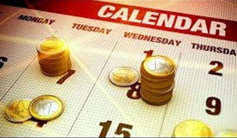 Calendário económico para o mercado Forex