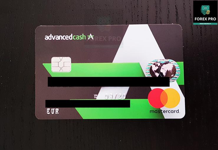Cartão Bitcoin Advcash MasterCard