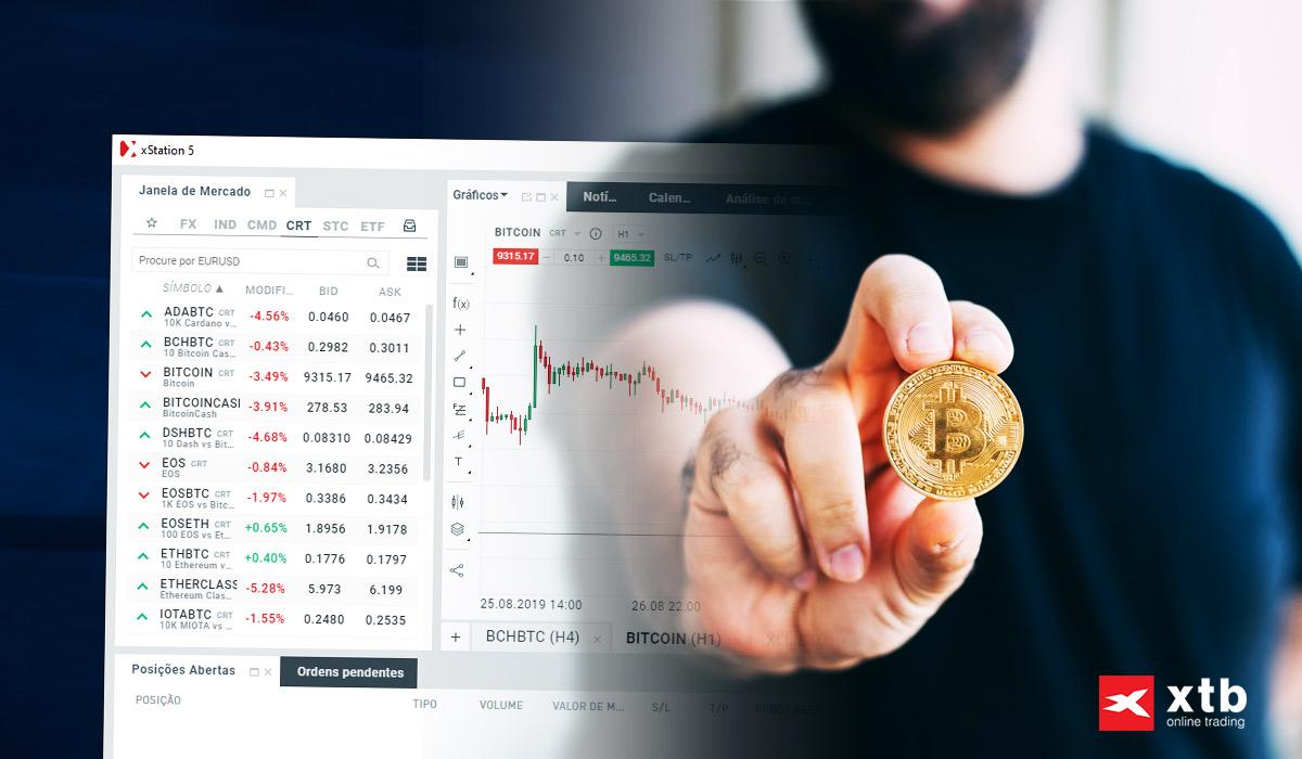 negociação de bitcoin ou etherium