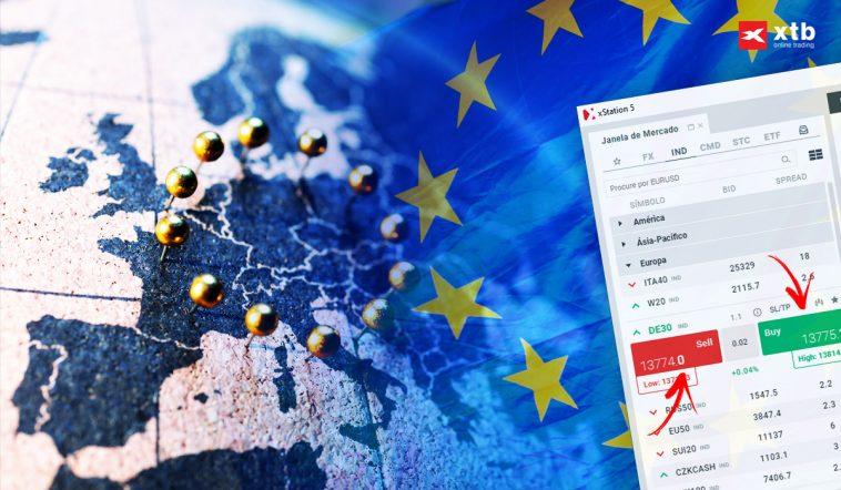 Como Fazer Trading de Índices Acionistas Europeus?
