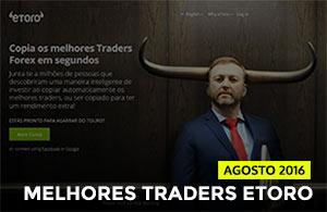 Melhores Traders ETORO de agosto 2016