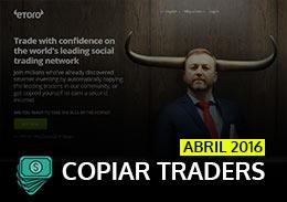Melhores Traders Forex de Abril 2016