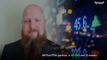 Copiar Traders em Novembro no Etoro