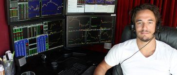 Trader Forex a Ganhar Dinheiro