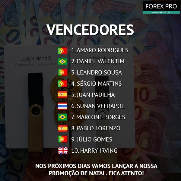 Vencedores do Passatempo LEDGER NANO S + 50€ em Bitcoin
