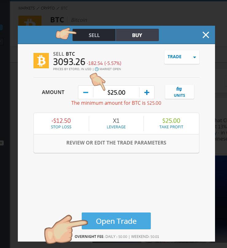 Passos para Ganhar Dinheiro com a queda do Bitcoin