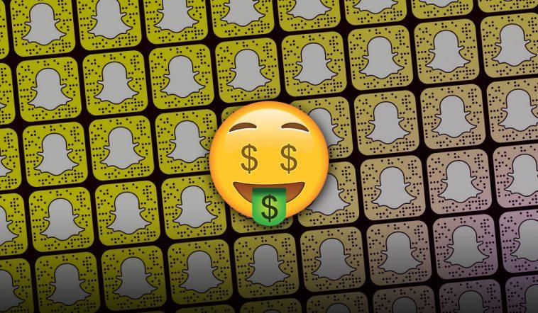 Ganhar Dinheiro com o Snapchat