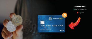 SpectroCoin melhor cartão bitcoin