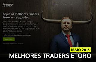 Melhores Traders Forex ETORO MAIO 2016