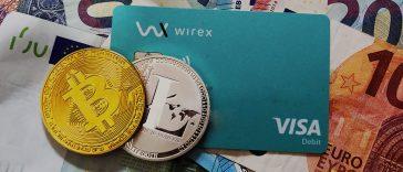 Cartão Bitcoin Visa Contactless da Wirex - Cartão Bitcoin e Litecoin