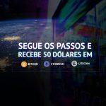 Abre conta na Markets e Recebe $50 (em Bitcoin, Ethereum ou Litecoin)
