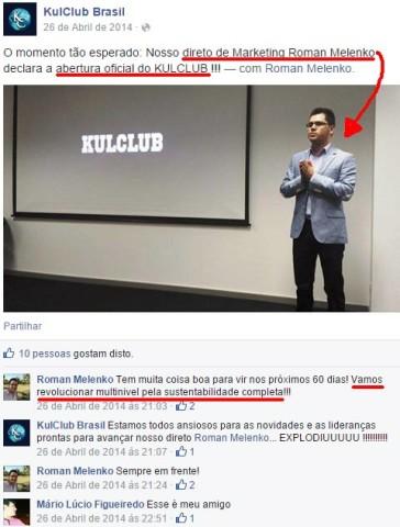 Roman Melenko, a face da KulClub em Portugal e o rosto do esquema