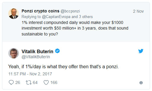 Vitalik Buterin (fundador Ethereum) fala sobre a fraude BitConnect